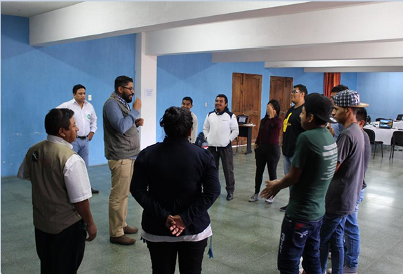 Ante las amenazas y riesgos jovenes rurales integran Red de Comunidadoras y Comunicadores