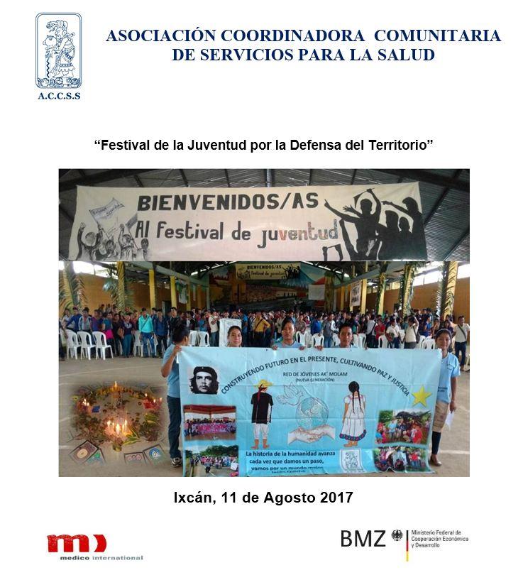 """""""Festival de la Juventud por la Defensa del Territorio"""""""