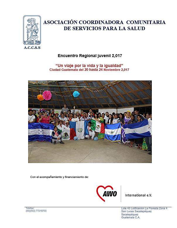 Encuentro Regional «Un viaje por la Vida y la Igualdad»