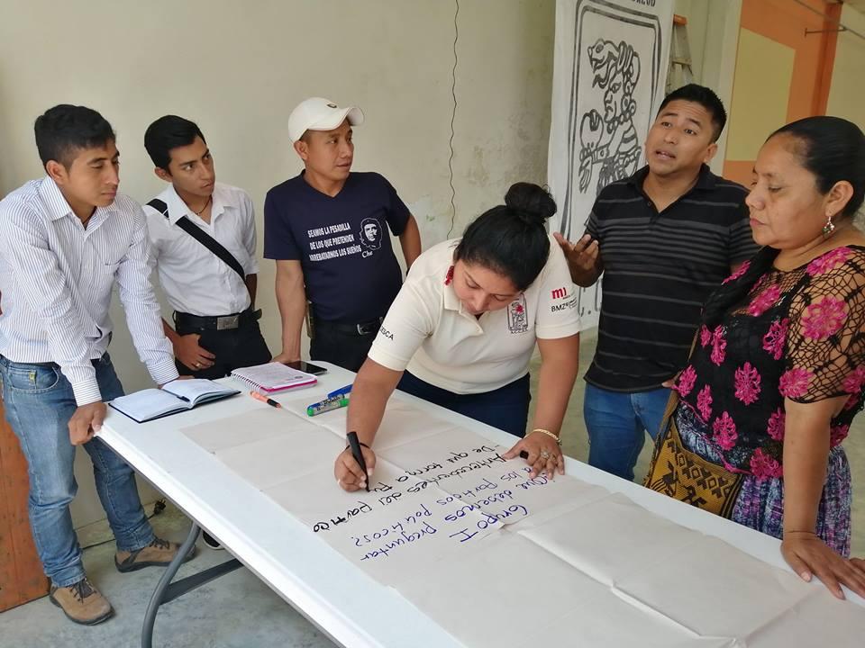 Foro Proceso Electoral, sobre identificación de Propuestas de candidatos en Ixcán, El Quiché