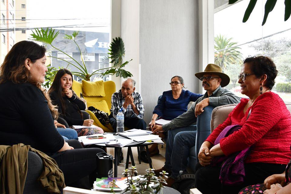 Se está poniendo ocupado en Quito!