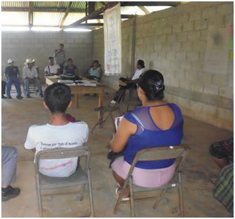 Comunitarios y comunitarias avalan formación en Derechos