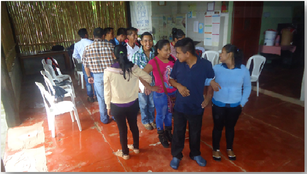 Con energía positiva, jóvenes de las 7 microregiones de Ixcán, conocen como defender y hacer cumplir sus Derechos