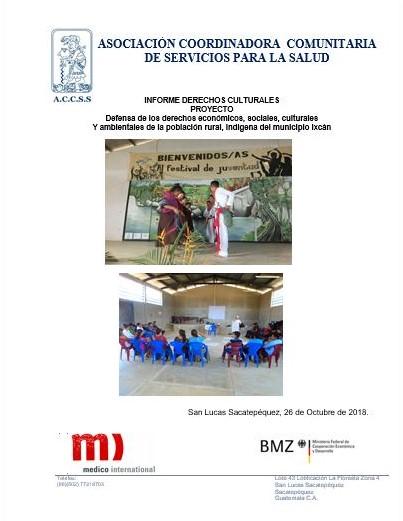 Informe Derechos Culturales