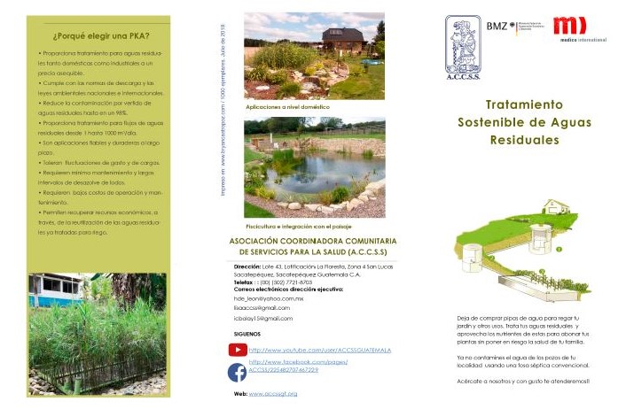 Tratamiento Sostenible de Aguas residuales