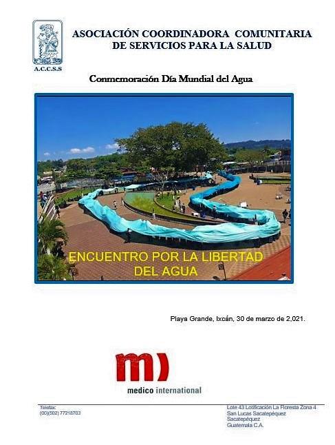Conmemoración Día «Mundial del Agua»